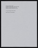 view Cornell University, Herbert F. Johnson Museum of Art - Works by Richard Artschwager (1993) digital asset: Cornell University, Herbert F. Johnson Museum of Art - Works by Richard Artschwager (1993)