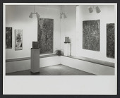 view Elise Asher papers digital asset: Photographs of exhibition installation at The Contemporaries Gallery