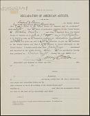 view Declaration of American Artists digital asset: Declaration of American Artists