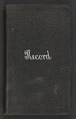 view Address Book (1 volume) digital asset: Address Book (1 volume)