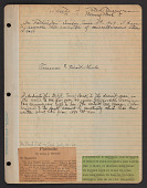 """view Berryman family papers digital asset: Scrapbook, """"Treasures and Heart Throbs"""""""