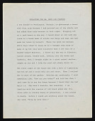 view Beverly Buchanan papers digital asset: Artist Statements and Writings by Beverly Buchanan