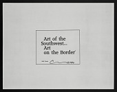 """view By Casas, """"Art of the Southwest....Art on the Border"""" digital asset: By Casas, """"Art of the Southwest....Art on the Border"""""""