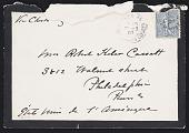 view Cassatt, Robert and Minnie digital asset: Cassatt, Robert and Minnie: 1907-1908