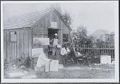 view Students at Shinnecock Art School circa 1895 digital asset: Students at Shinnecock Art School circa 1895