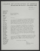 view College Art Association of America digital asset: College Art Association of America