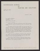 view Robert M. Cronbach papers digital asset: Skowhegan School
