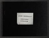 "view Book, ""Jaime Davidovich: Videotapes Catalogue"" digital asset: Book, ""Jaime Davidovich: Videotapes Catalogue"""