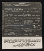 view Birth Certificate, Marriage Certificate, Death Certificate digital asset: Birth Certificate, Marriage Certificate, Death Certificate