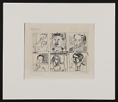 view Etching, Artists' Portraits(unfilmed) digital asset: Etching, Artists' Portraits(unfilmed)
