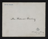 view Correspondence, White House digital asset: Correspondence, White House: 1903