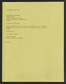 view Artist's Copy of Correspondence digital asset: Artist's Copy of Correspondence