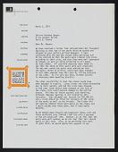 view Kauffman, Craig, Correspondence digital asset: Kauffman, Craig, Correspondence