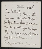 view Correspondence, Church, Frederick S. digital asset: Correspondence, Church, Frederick S.: 1887-1919