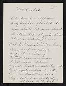 view Correspondence, Ryder, Albert Pinkham digital asset: Correspondence, Ryder, Albert Pinkham: 1897-1910