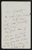 view Correspondence, Thayer, Abbott and Emma digital asset: Correspondence, Thayer, Abbott and Emma: 1905