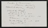 view Correspondence, Miscellaneous digital asset: Correspondence, Miscellaneous: circa 1885-1930