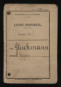 view Grigory Gluckmann papers digital asset: French Documents