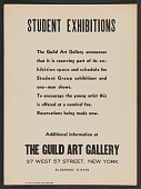 view Guild Art Gallery records digital asset: Exhibition Catalogs and Press