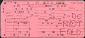 view Computer Punch Cards digital asset: Computer Punch Cards