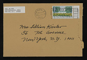 view Lillian and Frederick Kiesler papers digital asset: Blaine, Nell