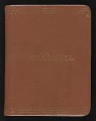 view Elisabeth Zogbaum papers regarding Franz Kline digital asset: Address Book (1 of 2)