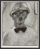 view Self-Portrait (1918) digital asset: Self-Portrait (1918)
