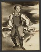 view Self-Portrait as a Golfer (1927) digital asset: Self-Portrait as a Golfer (1927)