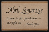 view Information on Abril Lamarque and family digital asset: Information on Abril Lamarque and family