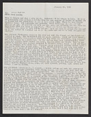 view Jack Lenor Larsen papers digital asset: Personal Correspondence