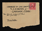 view Various Notes and Writings by Charles Downing Lay digital asset: Various Notes and Writings by Charles Downing Lay