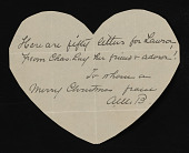 view Various Notes to Laura Lay by Charles Downing Lay digital asset: Various Notes to Laura Lay by Charles Downing Lay