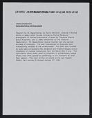 view Darboven, Hanne, Requiem for M. Oppenheimer (Jan 6-27, 1990); 420 W Broadway digital asset: Darboven, Hanne, Requiem for M. Oppenheimer (Jan 6-27, 1990); 420 W Broadway