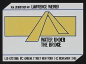 view Weiner, Lawrence (Nov 1-22, 1986); 142 Greene St digital asset: Weiner, Lawrence (Nov 1-22, 1986); 142 Greene St