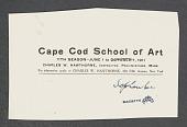 view Cape Cod School of Art digital asset: Cape Cod School of Art