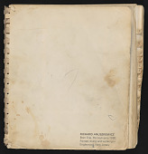 view Marcia Marcus papers digital asset: Addresses and Address Books