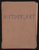"view Alice Trumbull Mason papers digital asset: Notebook, ""History of Art"""