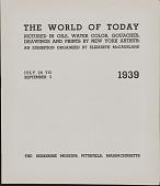view Exhibition Catalogs, Berkshire Museum digital asset: Exhibition Catalogs, Berkshire Museum: 1939