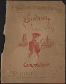 """view Diary, """"Sophomore Days, Book 3,"""" digital asset: Diary, """"Sophomore Days, Book 3,"""""""