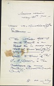 view Letter to M. Knoedler digital asset: Letter to M. Knoedler: 1900 May