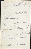 view Letter to M. Knoedler digital asset: Letter to M. Knoedler: 1900 June