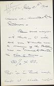 view Letter to M. Knoedler digital asset: Letter to M. Knoedler: 1900 July