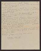 view Linda Nochlin papers digital asset: Class Notes, Art History