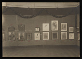 view Violet Oakley papers digital asset: Photographs of Events, Art Related (exhibition, Corcoran)