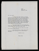 view Roosevelt, Eleanor and Correspondence About Painting Moonlight Over Topaz, Utah digital asset: Roosevelt, Eleanor and Correspondence About Painting Moonlight Over Topaz, Utah