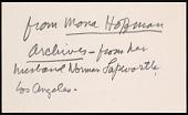 view Correspondence, Kahlo, Frida digital asset: Correspondence, Kahlo, Frida