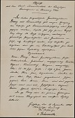 view Louis Prang papers digital asset: Photocopy of 1848 Prussian Arrest Warrant for Louis Prang