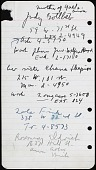 view Josef Presser and Agnes Hart papers digital asset: Address Books