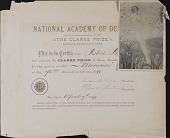 view Robert Reid papers digital asset: Certificate