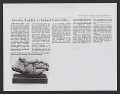 view Press Book: Dorothy Ruddick digital asset: Press Book: Dorothy Ruddick